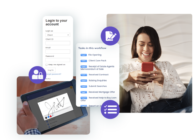 A self-service portal to empower clients